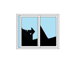 XO Sliding Patio Door