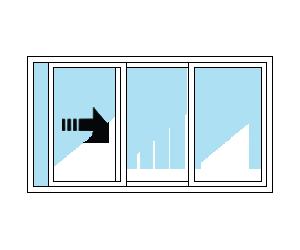 XOO Sliding Patio Door